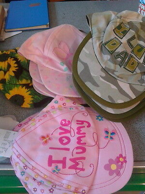 wholesale job lot 15 childrens baby hats stock clearance
