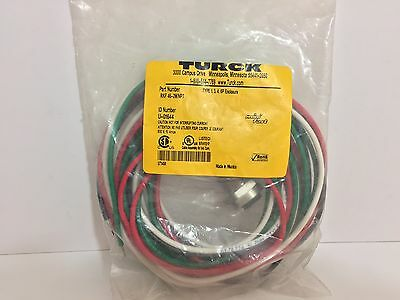 Factory Sealed! Turck Mini-Fast Receptacle Rfk46-2M/npt U-01644 600 Volt 10 Amp