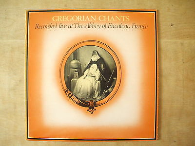 Gregorian Chant - Live At Abbey Of Encalcat, France - 1976 Abc Lp Record