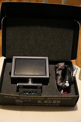 "RED Digital Cinema Pro 5"" Touch LCD Monitor with LCD EVF cable"