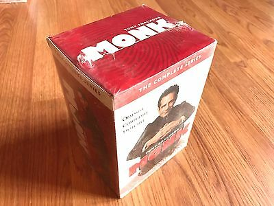 Monk:The Complete Series(DVD, 2016, 32-Disc Set) Seasons 1-8 free shipping