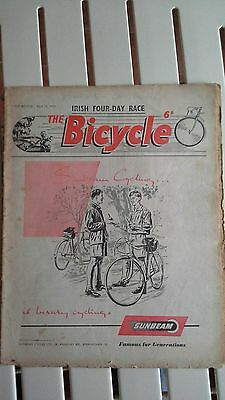 The Bicycle - vintage cycling magazine dated April 22nd 1953