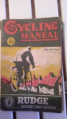 Cycling Manual - Vintage Wartime Publication - 19th Edition