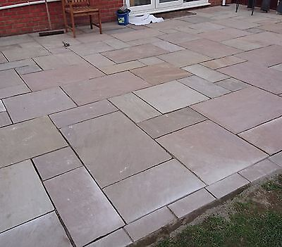 Indian Sandstone Patio Paving supplied and fitted £80 per m2