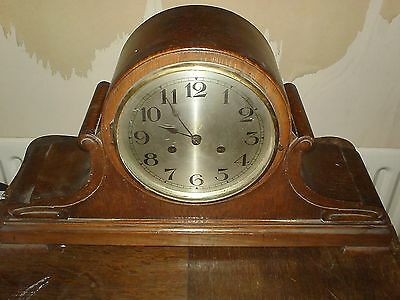 NAPOLEON HAT CHIMING MANTEL CLOCK for Spares or Repair