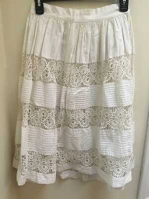 Adorable 1920s Crocheted And Pleated Skirt