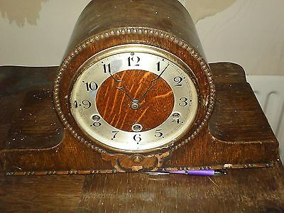 Westminster Chime Mantal Clock for Spares or Repair