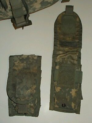 M4 Two Magazine Pouch Molle Ucp Acu Us Army Camo Digital Long Pocket Velcro