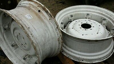 Ford newholland tractor 15x34 rear wheels   dealer clearance new genuine pair