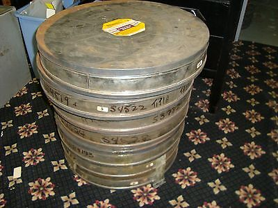 70mm Lab / Vault Cans  **Group of 7**  Made by Eastman Kodak