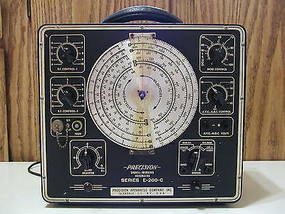 Vintage Precision Signal Marking Generator Series E-200-C