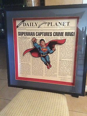 Superman Curt Swan Murphy Anderson signed WB Exclusive Daily Planet Sale!!!