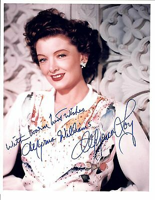 Myrna Loy Actress 8x10 Looks Great! deceased Signed Jsa Letter Coa #y78091