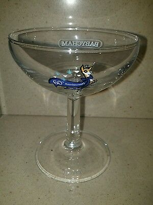1x Vintage Babycham 60th Anniversary glass - Collectable breweriana 1953 to 2013
