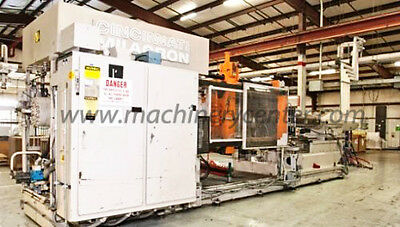 700 Ton, 110 Oz. Cincinnati Injection Molding Machine '93