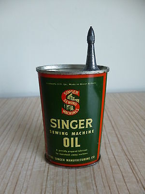 Vintage SINGER Sewing Machine OIL CAN