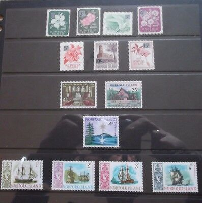 Collection of Norfolk Islands Mint Stamps - Sets  (T228)