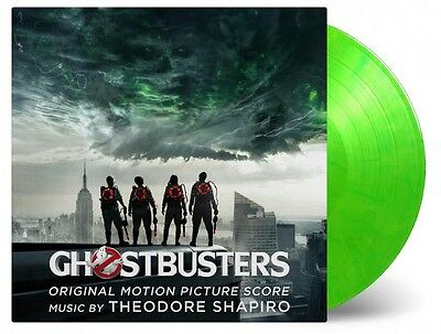 Ghostbusters - Soundtrack Score 180g SLIME GREEN COLOURED vinyl LP
