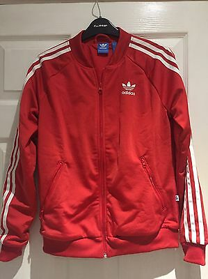 Adidas Tracksuit Top Red 10