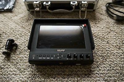 "Lilliput 663/O 7"" IPS Field Monitor HDMI Output For DSLR Full HD Video Camera"