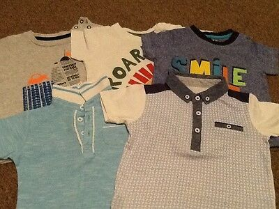 Baby Boys T-Shirt / Polo Shirt Bundle (9-12 months) 5of
