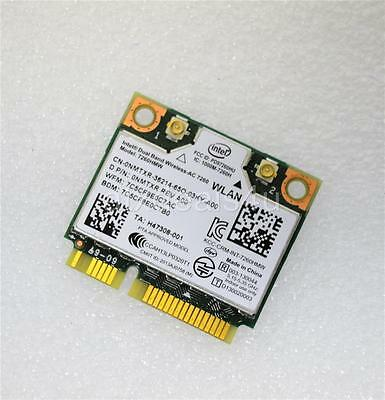 Dell NMTXR Intel Dual Band Wireless-AC 7260HMW WLAN WiFi Bluetooth PCI-E Card