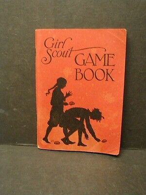 1939 Girl Scout Game Book