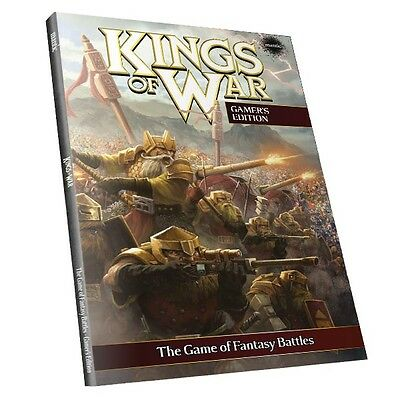 Kings of War - 2nd Edition Rulebook - Gamer's Edition (soft cover)