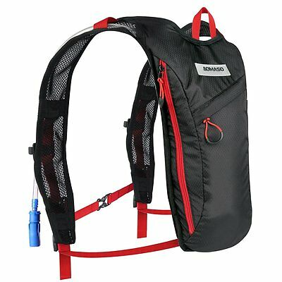 Aomaso Hydration Pack With 2L Backpack Water Bladder. Fits Men And Women With -