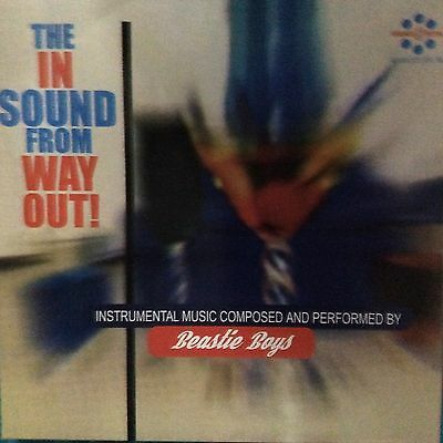 """Beastie Boys """" The In Sound From Way Out """" New Lp Re-Issue ** Coloured Vinyl **"""