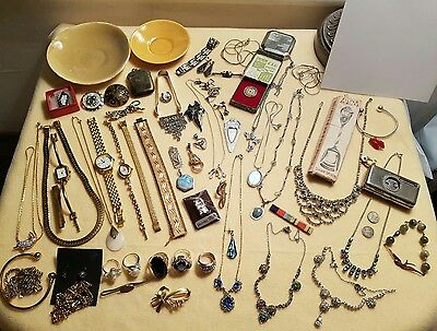 job lot of antiques and collectables