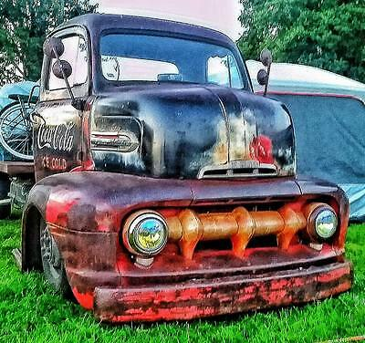 1951 Ford F6 Coe, Original Coca Cola Truck , Hot rod , Rat Rod , V8 ,