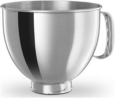 K5THSBP KitchenAid Artisan 5 Qt. Polished Stainless Steel Stand Mixer Bowl