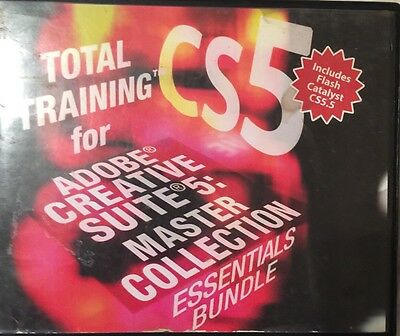 Total Training Adobe Creative Suite 5 for PC, Mac - TCS5DESIGNBUNDLE