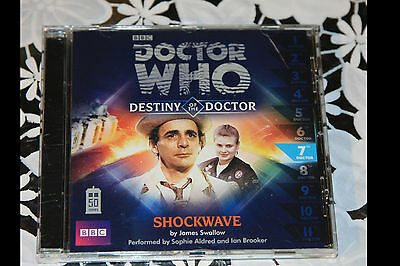 DOCTOR WHO - DESTINY OF THE DOCTOR audiobook cd