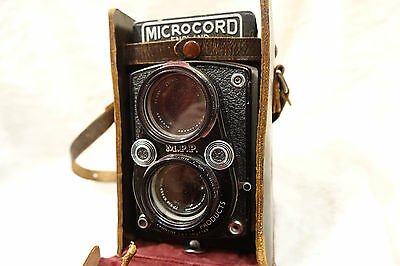 MPP Microcord TLR Excellent Condition Ross Xpress Lens, Case, Filter x 2