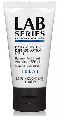 LAB SERIES SKINCARE FOR MEN DAILY MOISTURE DEFENSE LOTION SPF 15 50ml FREE POST