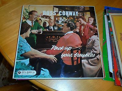 Lp/ Russ Conway /pack Up Your Troubles (1958 Mono Original Uk Columbia