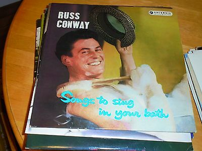 Lp/ Russ Conway /songs To Sing In Your Bath (1959 Original Uk Columbia Mono