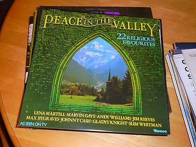 Lp/ Peace In The Valley /22 Religious Favourites /orig Artists (1979 Uk Ronco