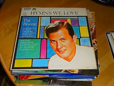 LP/ PAT BOONE /HYMNS WE LOVE (1957 / 1960s SECOND PRESSING UK DOT STEREO