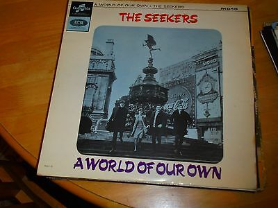 Lp/ The Seekers /a World Of Our Own (1965 Original Uk  Columbia Mono
