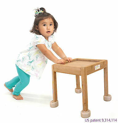 Little balance box Made From Bamboo by Inspira Spark - Sit. Stand. Push . Walk.