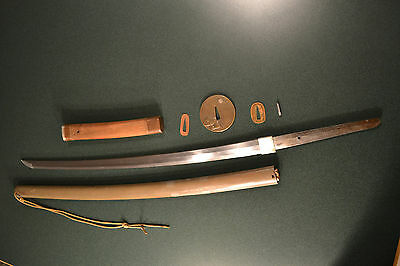 Antique Wwii Imperial Japanese Army Officer's Shin Gunto Signed  Sword Ww2 Japan