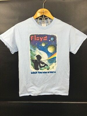 Pink Floyd Wish You Were Here T-shirt Size Small Graphic Men's Women's Vtg