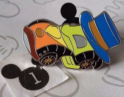 Jiminy Cricket Disney Racers Mystery Pin Characters as Race Cars 2016 Pinocchio