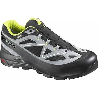 Salomon X ALp GTX black / gecko green