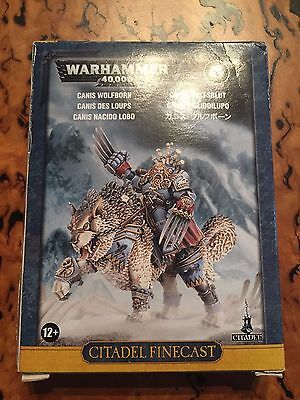 WARHAMMER 40K Canis Wolfborn (Unpainted and Unassembled)