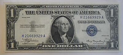 1935 1 Dollar Silver Certificate Paper Note