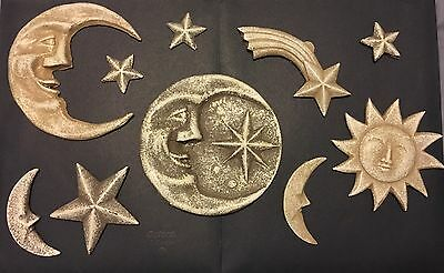 3G decoration for walls And Pictures Space Sun Moon Star (Used)